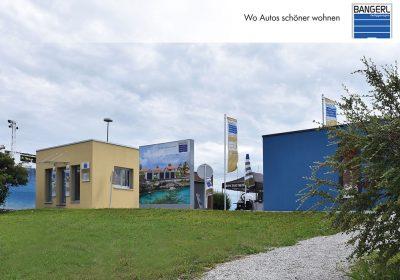 Zu sehen ist die Bangerl Eröffnung am Standort Blaue Lagune in Wien/Vösendorf